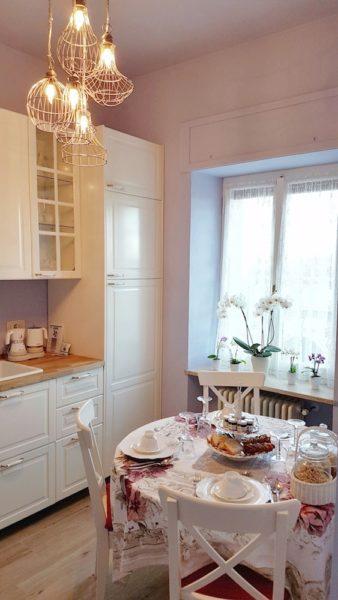 Locanda Jole Cucina Colazione Lampade Design Different Details Repubblica di San Marino