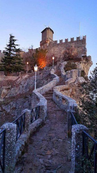Repubblica di San Marino Passo delle Streghe Torre Different Details