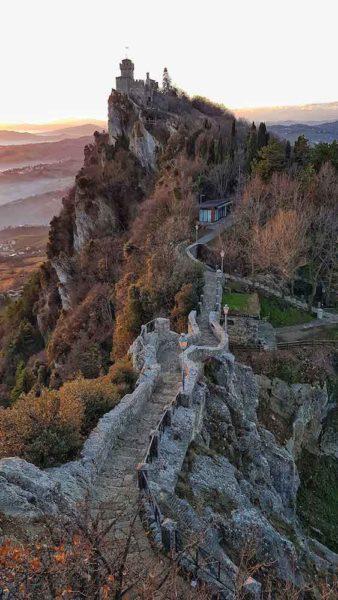 Repubblica di San Marino Torri Panorama Different Details