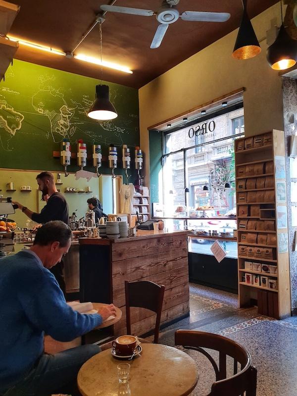Dove mangiare a Torino colazione orso torrefazione caffè