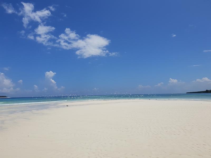 Muyuni beach maree Zanzibar Tanzania Roberta Arcangeli