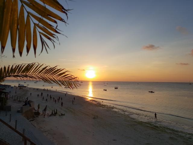 Tramonto Zanzibar Nungwi Beach Spiagge Different Details