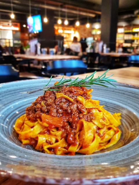Chi Burdlaz Garden Tagliatelle cucina romagnola