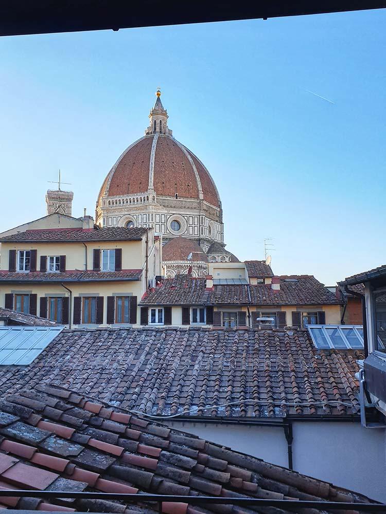 Weekend Firenze Biblioteca Oblate Vista Duomo Roberta Arcangeli