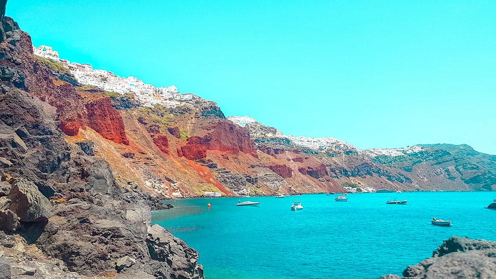 Santorini cosa vedere Oia Caldera Different Details