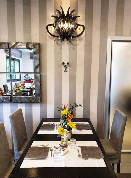 Sala colazione The One Riccione