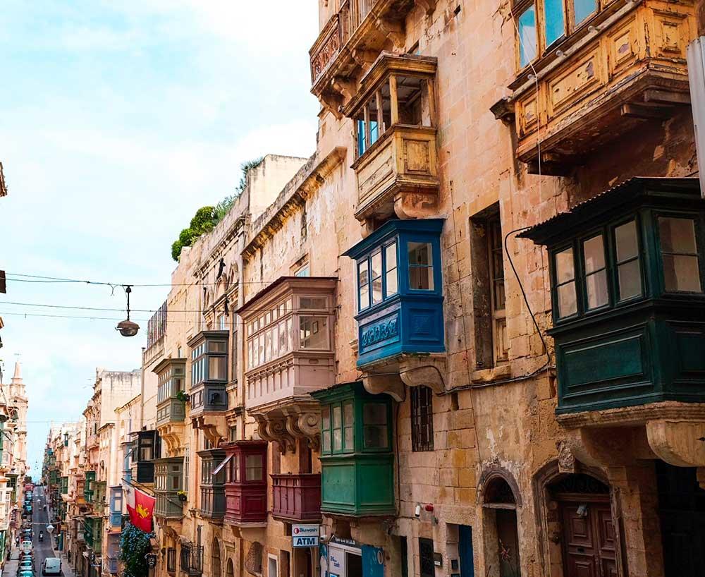 Malta la Valletta Different Details