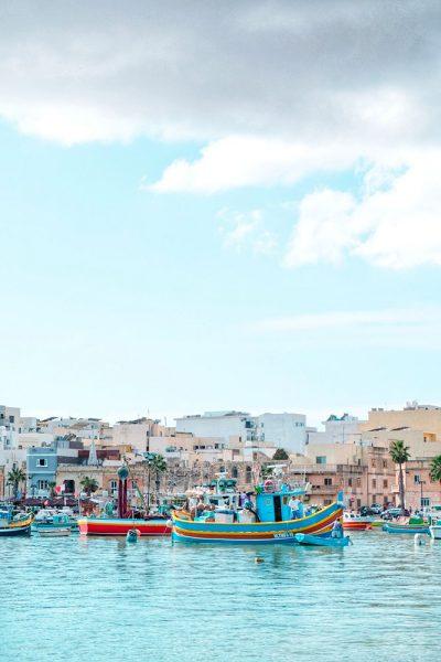 Mercato del pesce Marsaxlokk Roberta Arcangeli