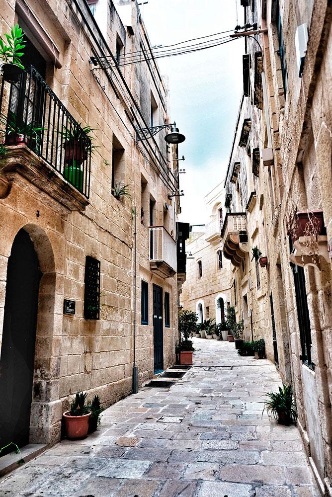 Malta in autunno Vittoriosa Three Cities Roberta Arcangeli