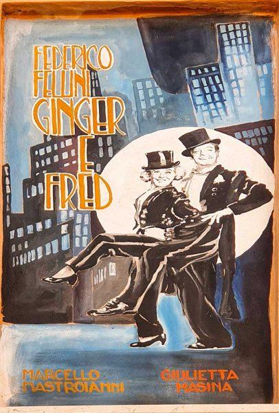 Fellini Rimini Ginger e Fred Festa de Borg