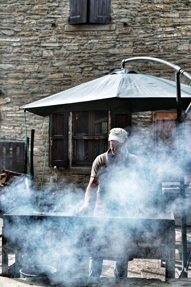 Carne Brace Rifugio Ca di Sopra Ridracoli Different Details