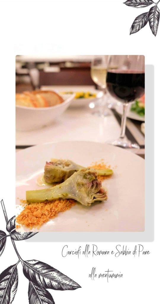 carciofi alla romana ristorante cucina Different Details