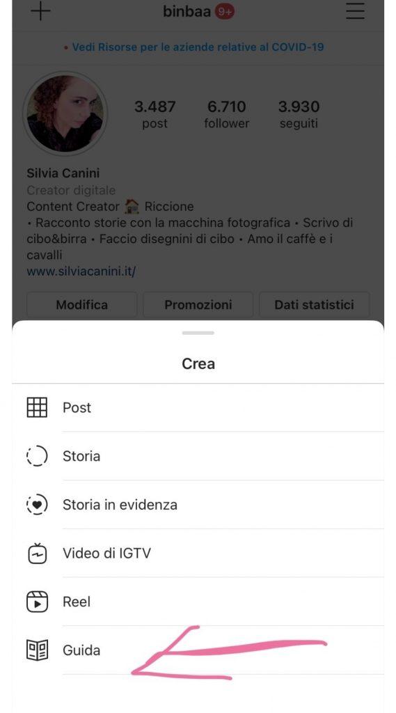 Come creare le Guide di Instagram Different Details