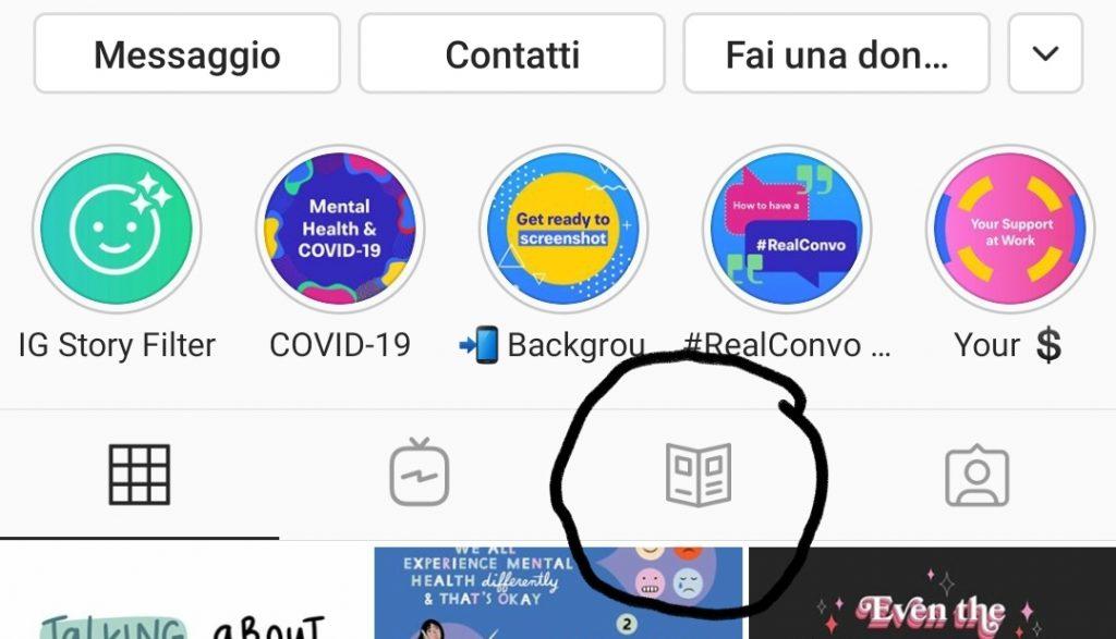 Guide Instagram content creator Roberta Arcangeli