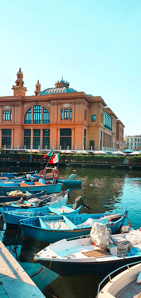 Teatro sull'acqua Bari Different Details