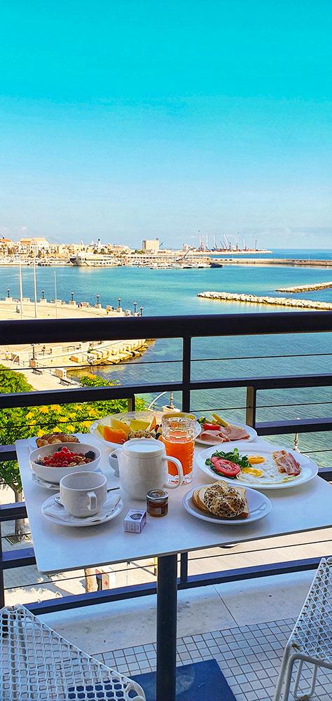 colazione in camera Bari Vecchia