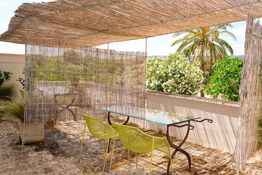 Tavolo design artigianale Masseria Fasano Roberta Arcangeli