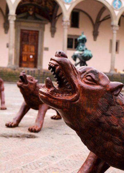 Piazza Santissima Annunziata Firenze Roberta Arcangeli