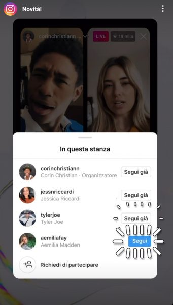 Come aumentare i followers su Instagram Different Details