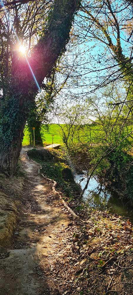 Da Riccione a Montescudo percorso verde Roberta Arcangeli