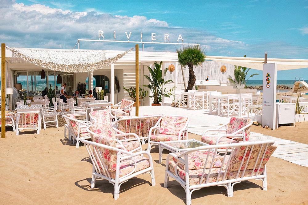 Riviera Mare Ristorante spiaggia Roberta Arcangeli