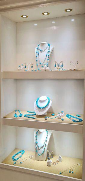 Gioielli argento e turchesi Zucchi Boutique Roberta Arcangeli